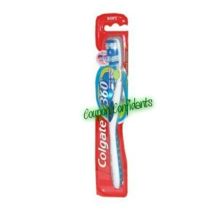 Free Colgate 360 toothbrush at CVS after ECBs!
