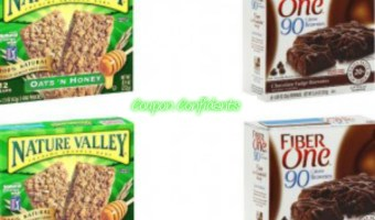 Fiber One or Nature Valley bars only $1.17 at CVS!