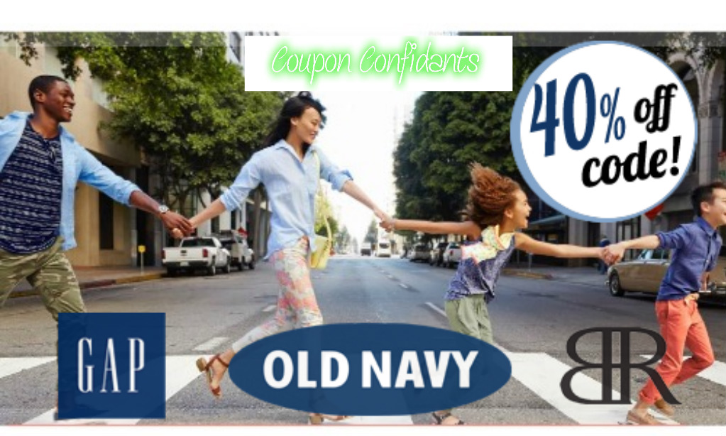 40% off Gap & Old Navy – Today is last day!