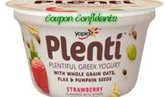 Free Plenti yogurt at Publix!