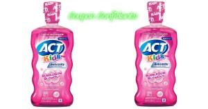 ACT Kids Mouthwash .57 a bottle @ Target