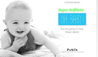 Publix baby coupons~Printable or in store booklet