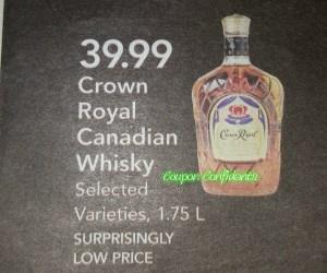 Super Low price on Crown Royal @ Publix!