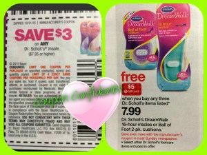 Great deal on Dr Scholl's at Target