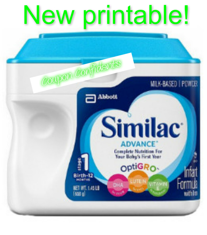 graphic about Printable Similac Coupons known as Fresh new $2.00/1 Similac printable coupon! ⋆ Coupon Confidants