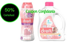 picture relating to Dreft Printable Coupon named 50% off Cartwheel $2.00 coupon upon Dreft! ⋆ Coupon Confidants