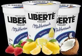 Liberte Mediterranee' yougurt  as low as .10¢ each @ Publix