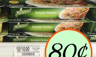 Michelina's Dinner Entrees ~ Just 80¢ At Publix