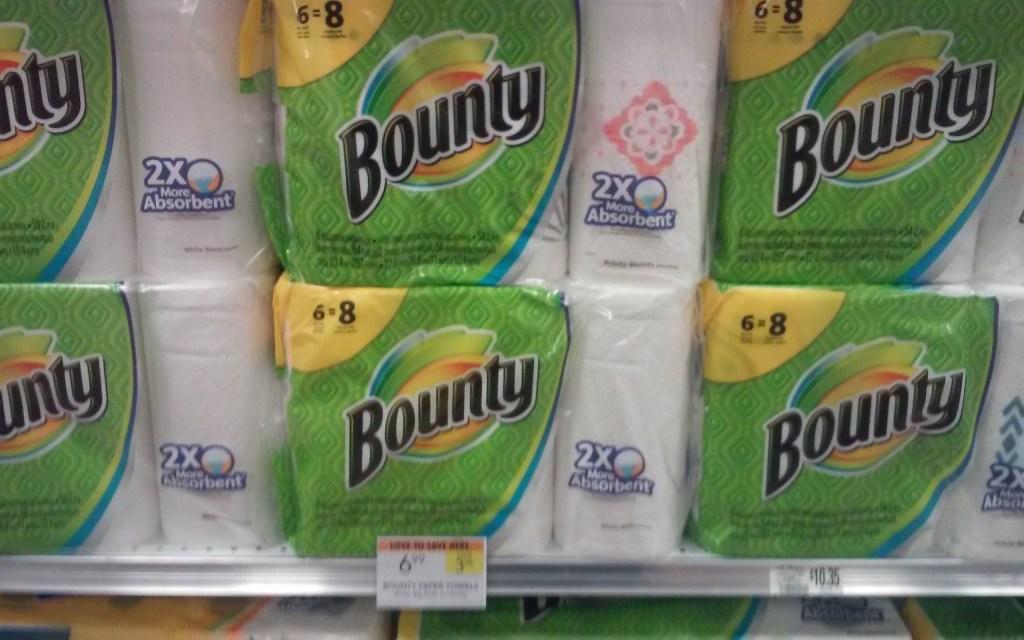 Cheap Charmin Bath tissue & Bounty paper towels @ Publix!