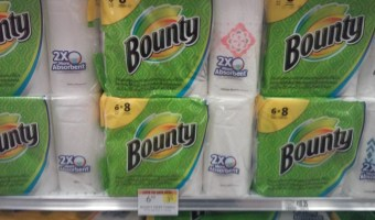 Cheap Charmin Bath tissue & Bounty paper towels @ Publix!