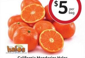 Halos 3 lb bag for $4 at Bi-Lo!