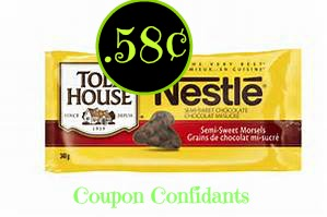 Nestle Chocolate chips as low as  .65¢ @ Publix