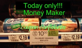 Money Maker on Grands! Biscuits ~ Today only ~ 3/2