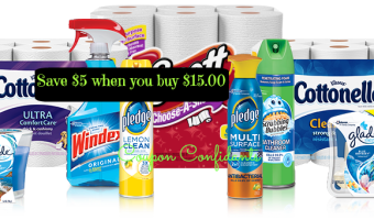 Save $5 wyb $15 on SC Johnson & Kimberly Clark products at Dollar General!!!!