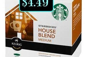 Starbucks K cups only $4.49 @ Kroger!
