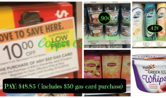 Gas card scenario for Publix next week Pay only $48.65 for 31 items PLUS a $50 card card!!!