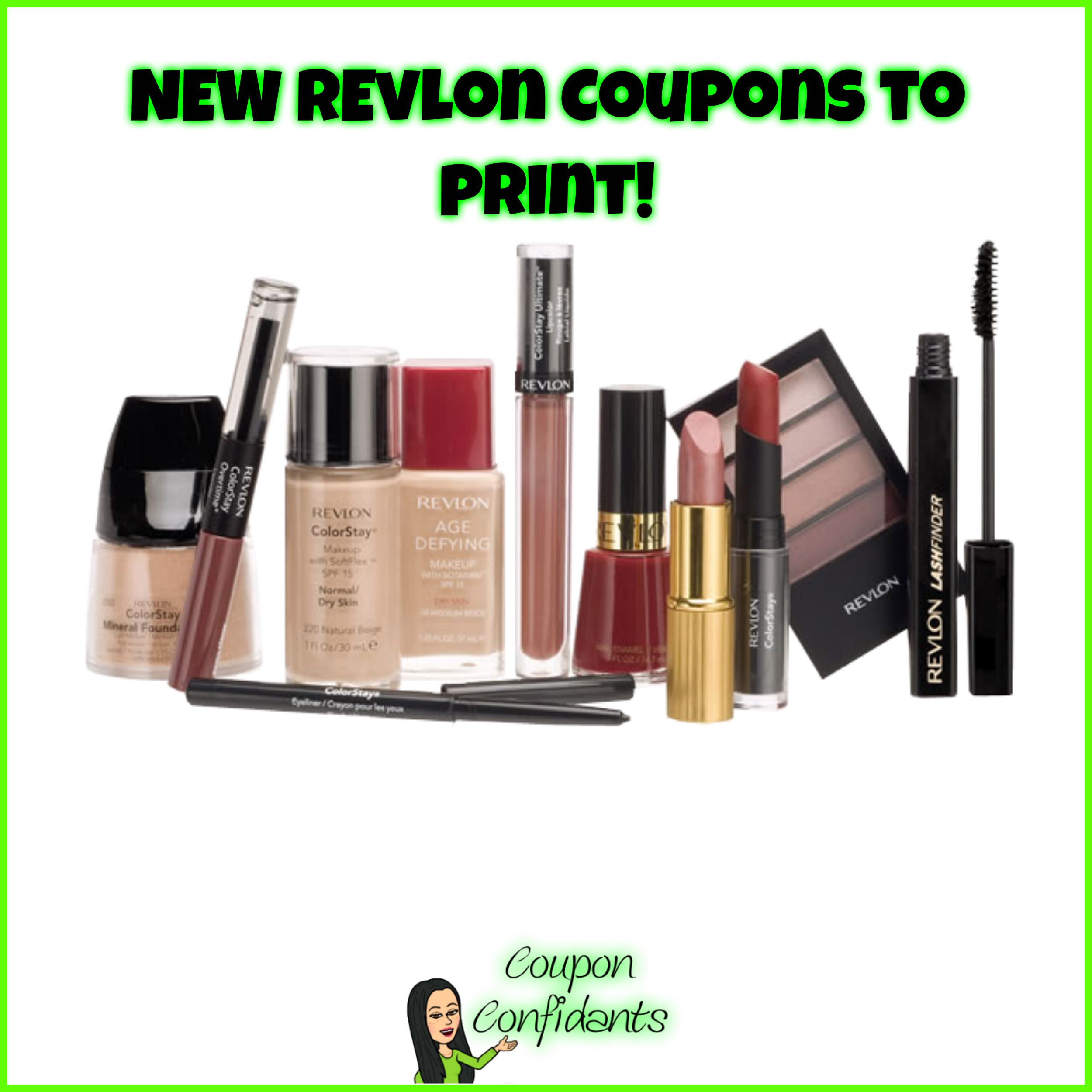 image about Printable Revlon Coupons titled Contemporary Revlon Coupon codes! ⋆ Coupon Confidants