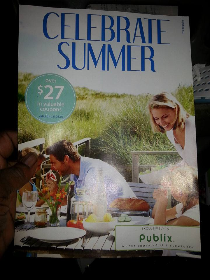 New Publix coupon book - Celebrate Summer ~ check your stores!