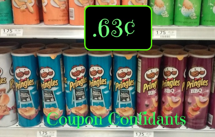 Pringles Cans only $0.63 each at Publix!