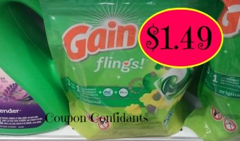 Gain Flings $1.49 @ Publix!