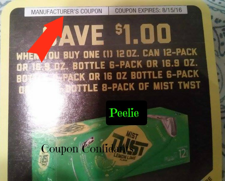 Buy Manufacturer Coupons >> Using And Stacking Coupons 101 What S A Manufacturer Coupon How
