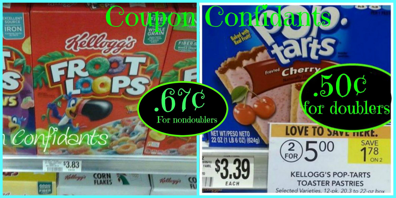 photograph regarding Pop Tarts Coupons Printable called Contemporary COUPON Warn: Warmer package deal upon Froot Loops Pop Tarts