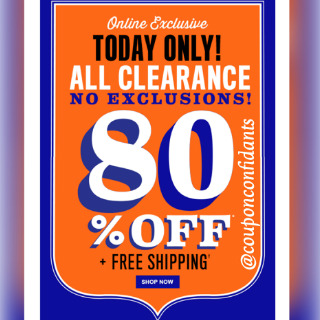 80% Off At The Children's Place* FREE Shipping* $10 OFF