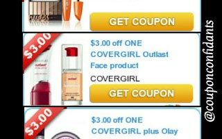*COVERGIRL* High Value Coupons! *PRINT NOW*