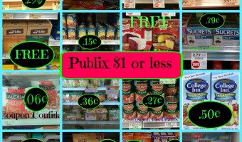 Click here for the Hottest Publix deals, under $1, ending this week!