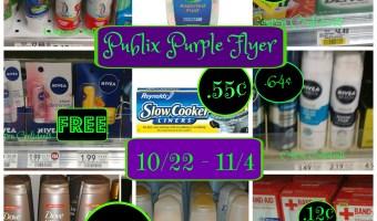 Purple Flyer Best Deals 10/22 – 11/4