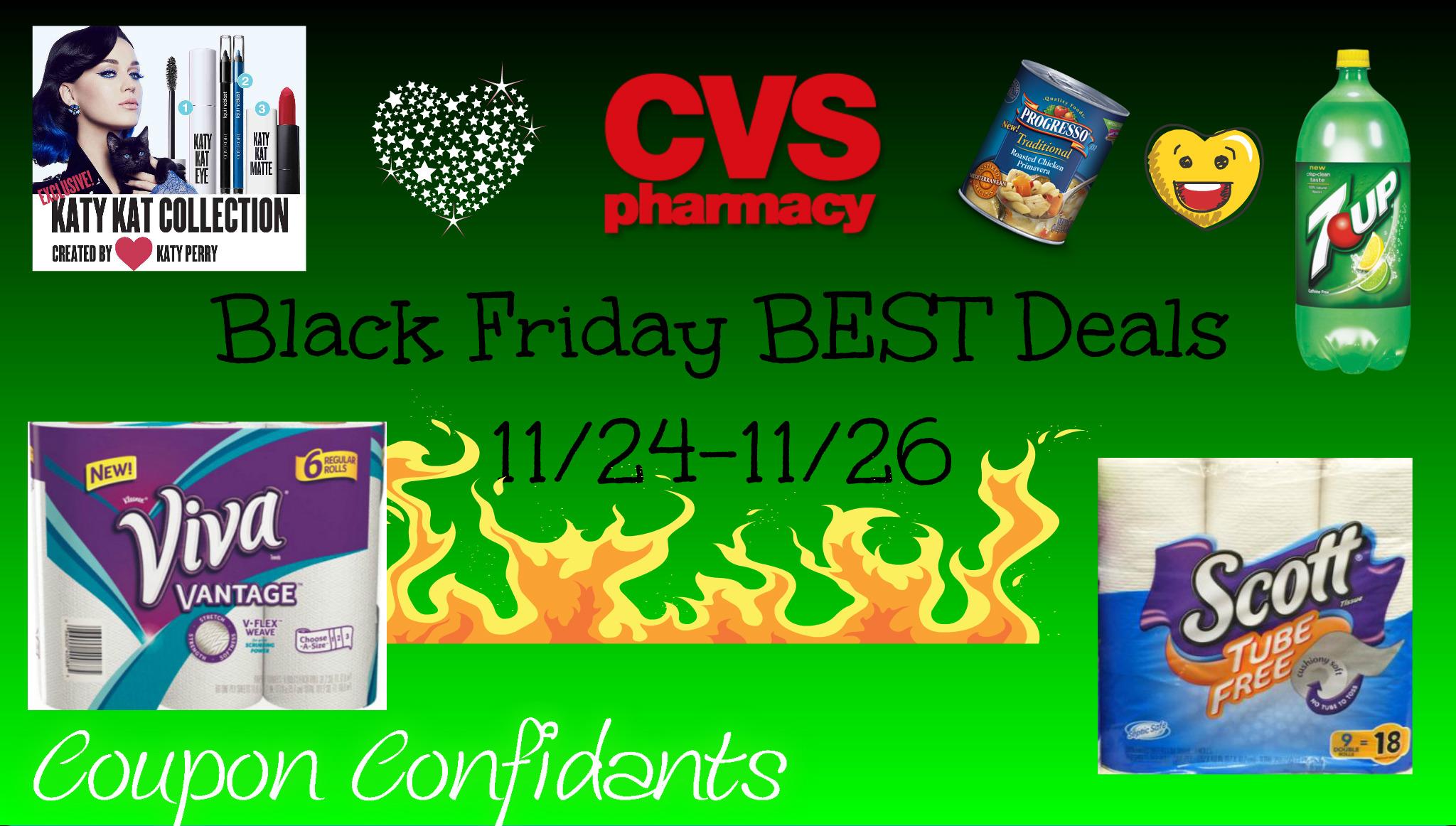 CVS NEWEST Deals 11/24 - 11/26 Black Friday ad Match ups!