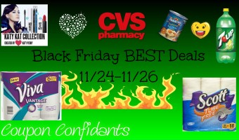 CVS NEWEST Deals 11/24 – 11/26 Black Friday ad Match ups!
