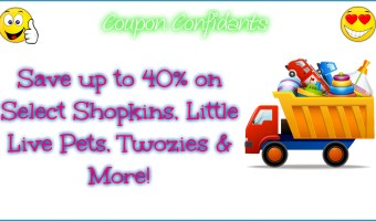 40% off TONS of toys!!! Shop now with Confidants!