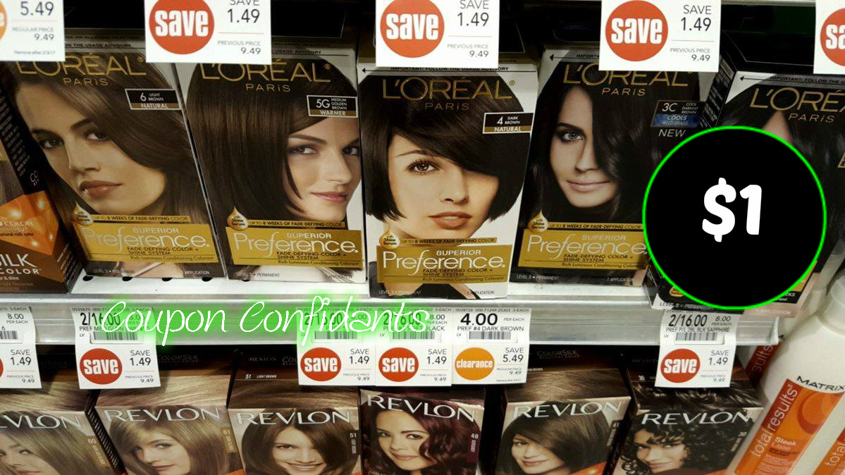 WOW!!! Hair Dye for only $1 at Publix!