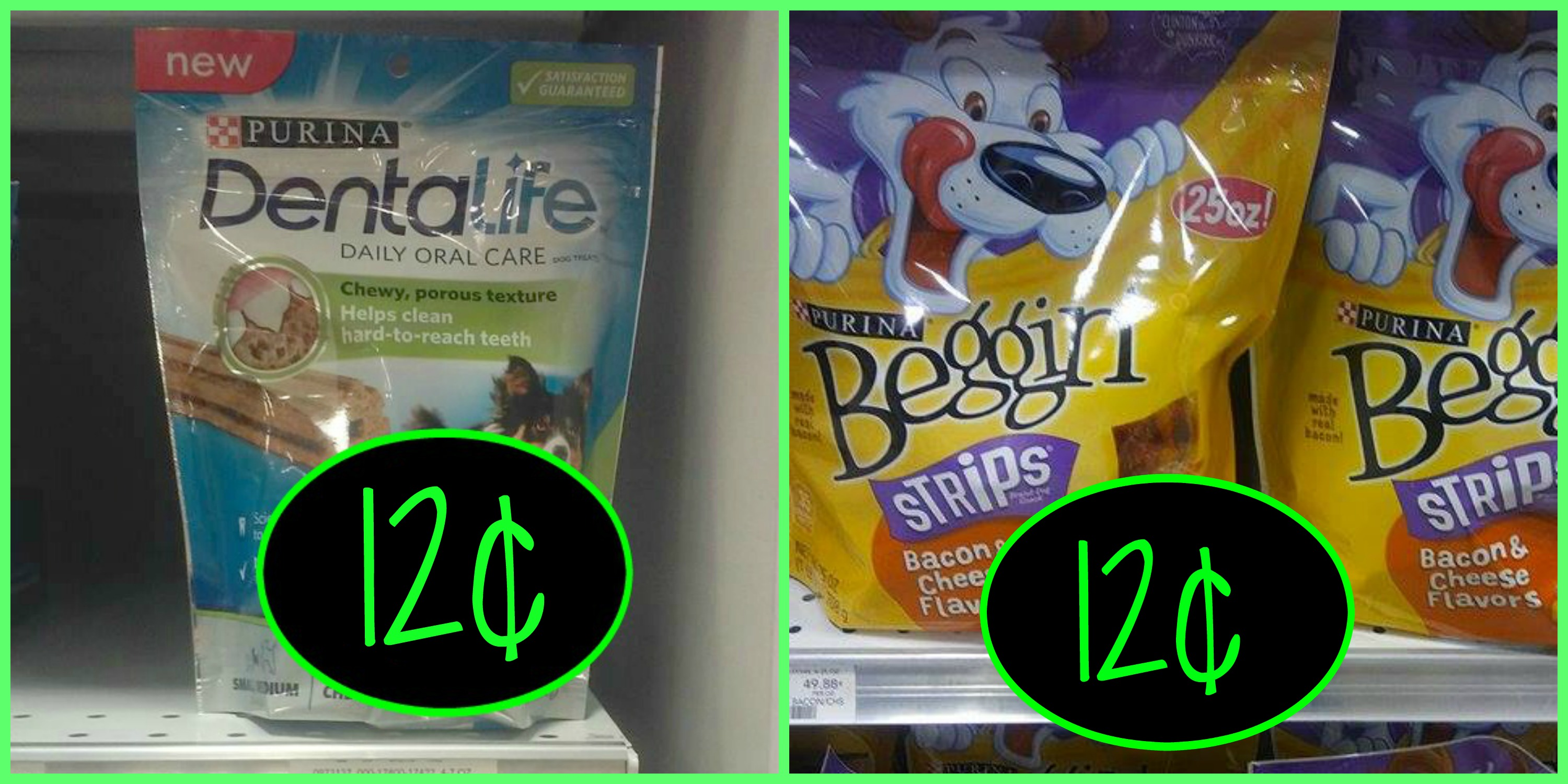 Hot Deals on Purina Cat and Dog as low as 12¢, if your Publix takes Target as a competitor!