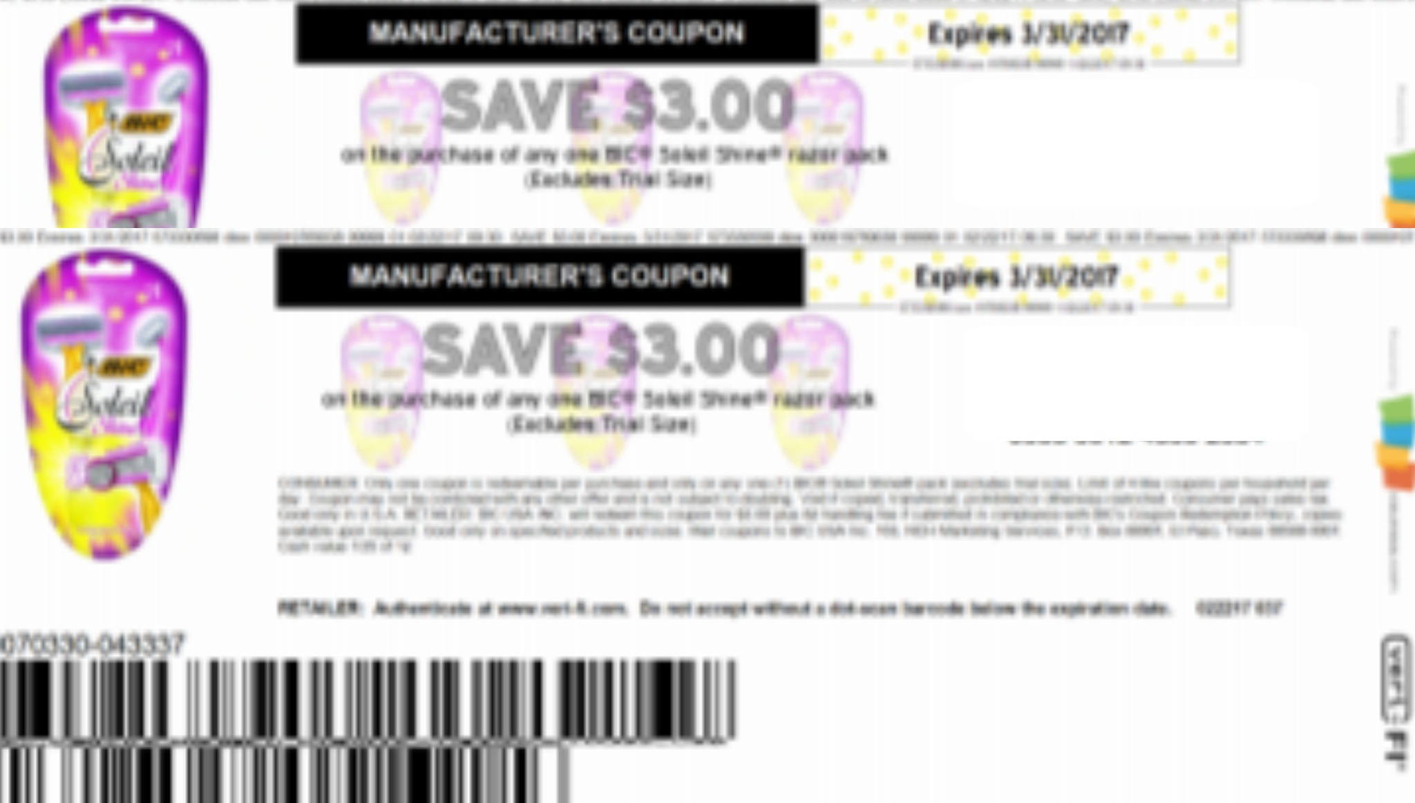 picture regarding Bic Razor Coupons Printable referred to as Click on in this article in direction of print Sizzling, fresh Bic Razor $3/1 coupon ⋆ Coupon