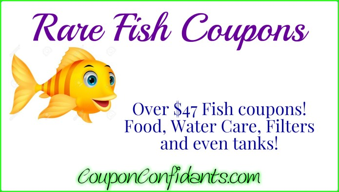 Fish Coupons Rare Print Now Coupon Confidants