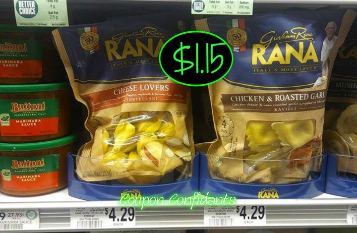Rana Pasta and Sauce Deal at Publix!