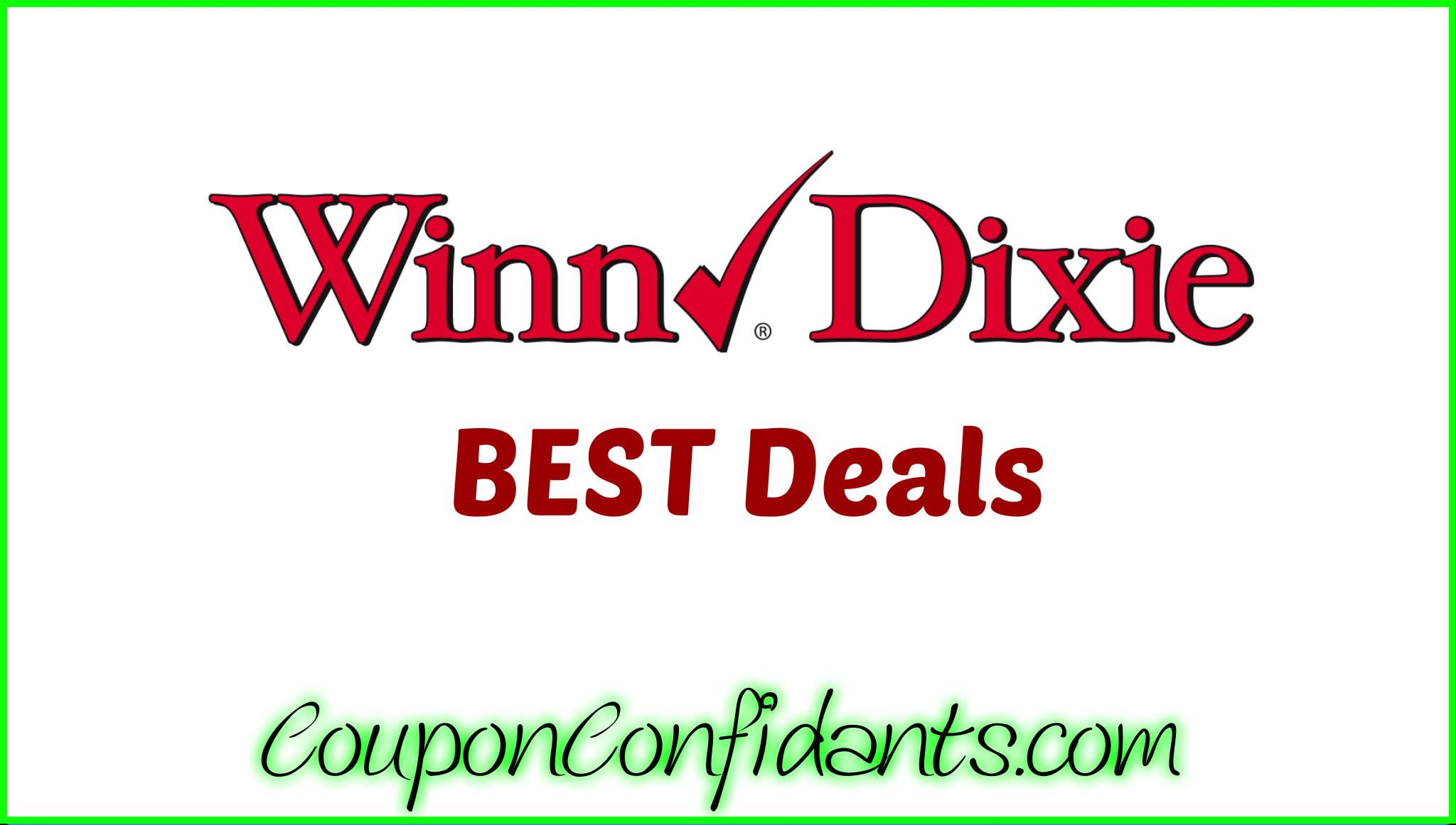 Winn Dixie Best Deals 3/29 - 4/4