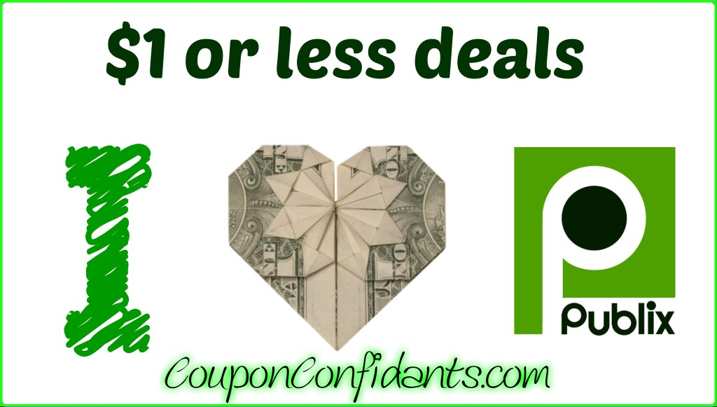 Publix NEW $1 or less Deals –