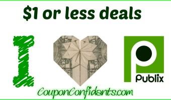 Publix NEW $1 or less Deals –