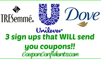 MUST Sign ups for AMAZING promos, coupons, and more!