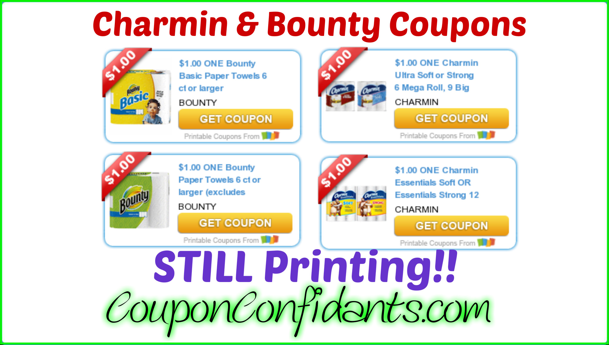 HOT Coupons STILL available!! Hurry!