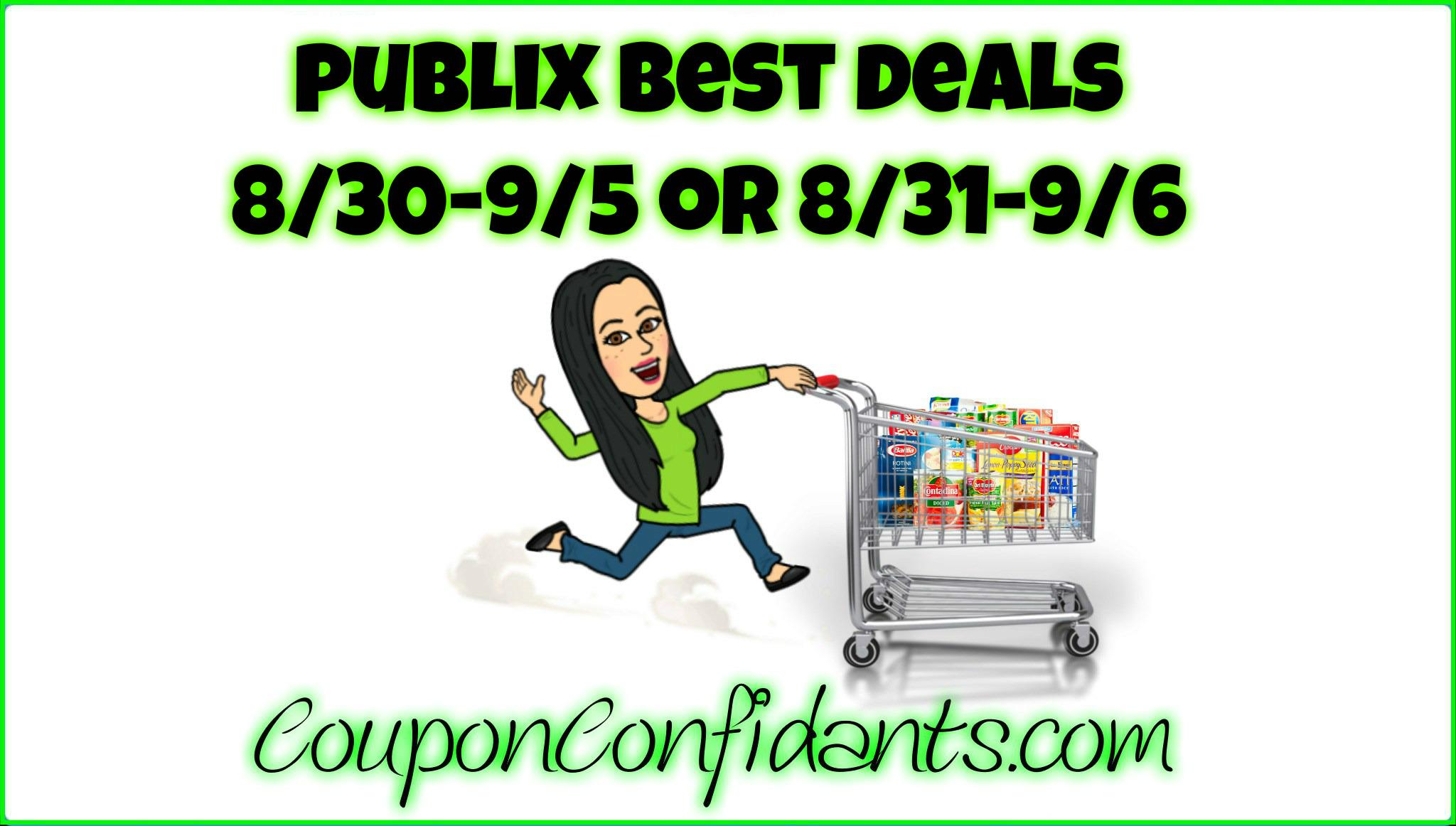 Publix Video for Deals 8/30 - 9/5 or 8/31 - 9/6