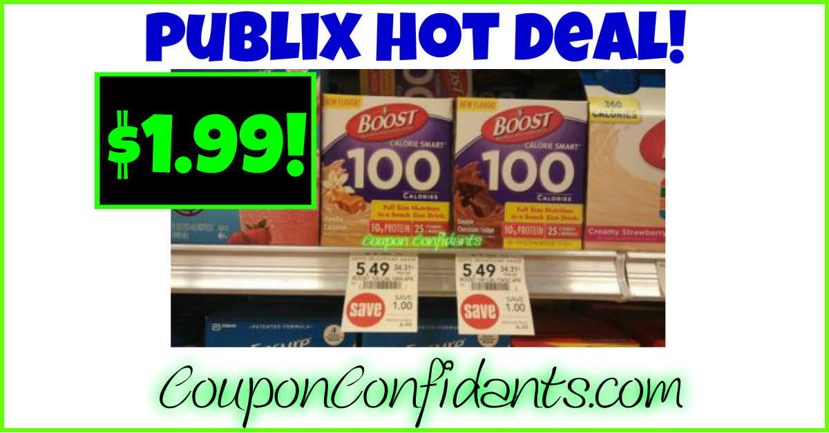 BOOST your savings at Publix!!