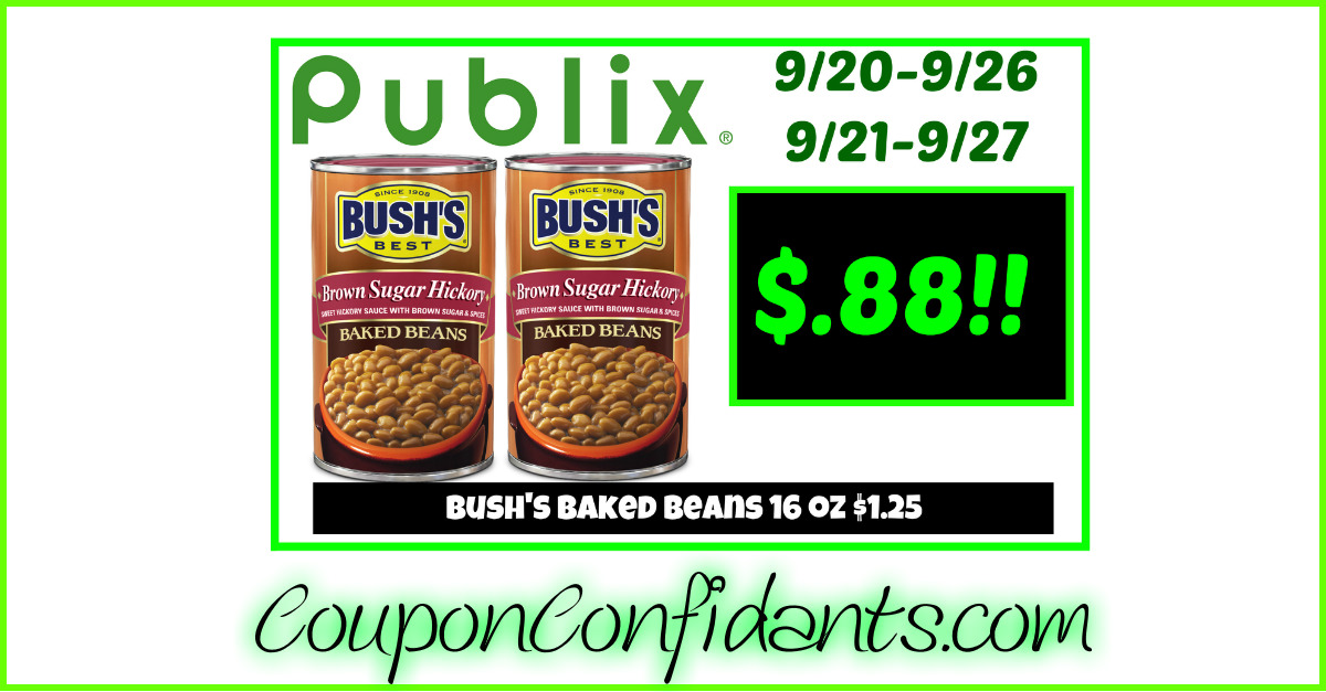 My Oh My, LOW price on Bush's Beans!