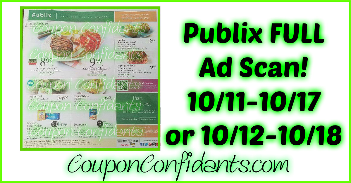 Publix FULL Ad Scan! Check it out!