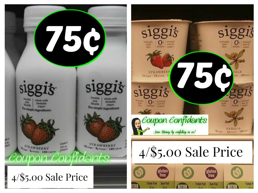 Siggi's only $0.75 at Publix! YES!