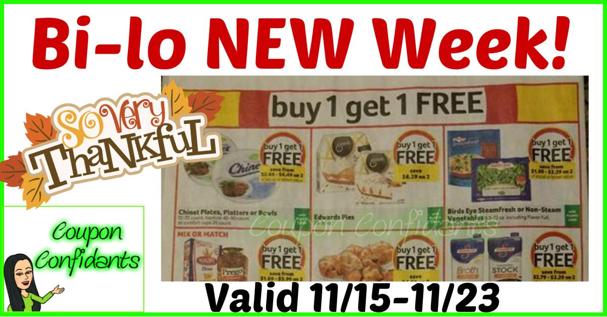 Bi-lo BEST Deals - 11/15 - 11/23