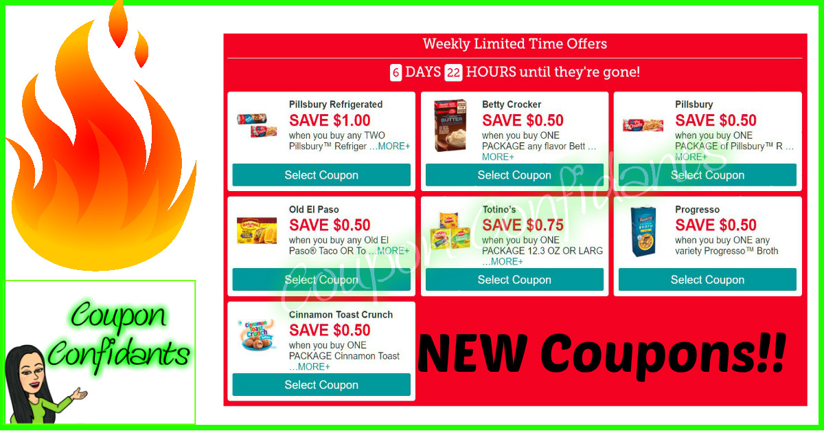 NEW General Mills Coupons!! HURRY!